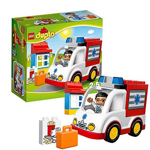 LEGO DUPLO - LA AMBULANCIA  JUEGO DE CONSTRUCCION (10527)