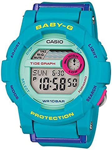 Casio Damen-Armbanduhr Baby-G Digital Quarz Resin