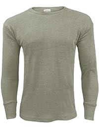 b3c059d0449d50 Gaffer Men Thermal Long Johns Bottoms Trousers Long Sleeve T Shirt Top Vest  Ski Wear