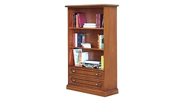 Libreria Ufficio Bassa : Arteferretto libreria bassa con 2 cassetti da salotto ufficio