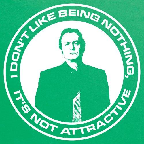 Official Gene Hunt T-Shirt - Nothing, Herren Keltisch-Grn