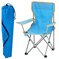 Kids Childrens Folding Camping Chair Fishing Hiking Picnic Garden Collapsible Outdoor With Carrying Bag By Tesco