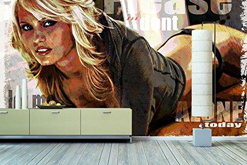 """Tableaux-XXL® Papier-peint intissé photo """"Your Carpenter"""" 180x120cm - papier-peint de qualité supérieure en 6 formats différents pour salon, bureau ou chambre - Papier-peint intissé"""