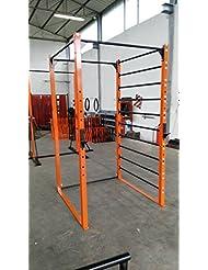 Jaula - estructura - espaldera - sentadillas - crossfit - gimnasia. Barra para dominadas