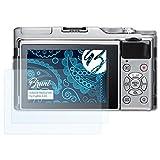 Bruni Schutzfolie für Fujifilm X-A5 Folie - 2 x glasklare Displayschutzfolie