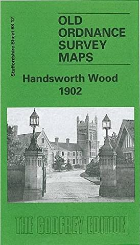 Handsworth Wood 1902: Staffordshire Sheet 68.12 (Old O.S. Maps of Staffordshire)
