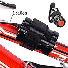 Yumun® sostituzione 8.4V 4000mAh battery pack con una nuova luce posteriore per CREE luce faro bici ciclismo