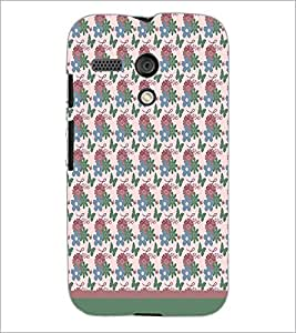 PrintDhaba Love pattern D-1821 Back Case Cover for MOTOROLA MOTO G (Multi-Coloured)