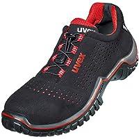 Uvex Motion - Calzado de protección para hombre, color negro, talla 42