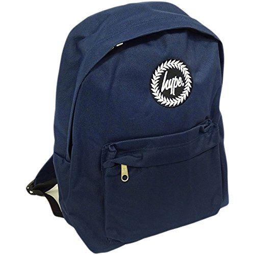 Hype Backpack (Navy) (Jean Fashion Gestickte)