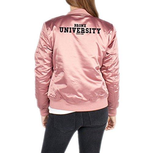 Bronx University Bomberjacke Girls Rosa Certified Freak-XS