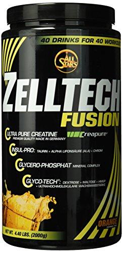 All Stars Zelltech Creatin Formula, Orange, 1er Pack (1 x 2000 g) -