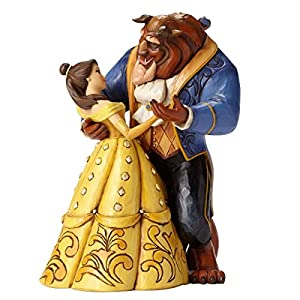 51tdeB6bDCL. SS300  - Disney Traditions Belle and Beast Dancing Figurine