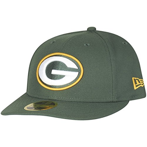 New Era 59Fifty LOW PROFILE Cap - Green Bay Packers grün (Low Profile 3d Cap)