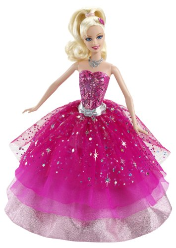 Barbie Mattel T2562-0 - Modezauber, Puppe zum Film Modezauber in Paris