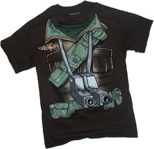 Hasbro Herren Herzog Anzug Kostüm-G.I. Joe T-Shirt XL