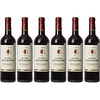 Château Alexandre Bordeaux Vin AOP 75 cl - Lot de 6