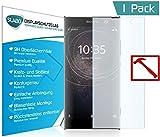 Slabo PREMIUM Pellicola Protettiva in Vetro Temperato Sony Xperia XA2 Ultra Pellicola Protettiva Schermo (pellicole rimpicciolite, a causa della convessità del display)
