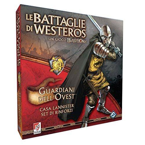 Giochi Uniti sl0075–Schlachten von Westeros: Wächter des Westens Spiel mit Miniature (Das Lied Von Eis Und Feuer Buch Set)