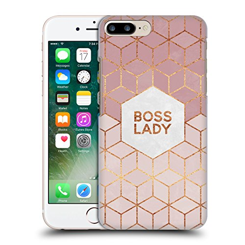 Offizielle Elisabeth Fredriksson Boss Lady Typografie Ruckseite Hülle für Apple iPhone 5 / 5s / SE Boss Lady