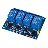 Kuman 4 Channel DC 5V Relay Module for Arduino Raspberry Pi DSP AVR PIC ARM K49 Vergleich