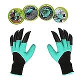 Laina jardin Genie guantes Impermeable Guantes de jardineria con plastico ABS garras para jardin y casa herramienta guantes/propagación suelos/rastrillar/de Rose poda