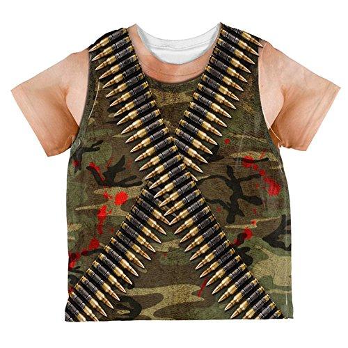 (Kostüm Halloween Commando Ranger Ganzen Kleinkind T Shirt Multi 6 t)