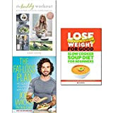 buddy workout, fat-loss plan and lose weight for good: slow cooker soup diet for beginners 3 books collection set - get fit with family and friends for a healthier, happier you, 100 quick and easy recipes with workouts