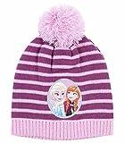 Disney Die Eiskönigin Elsa & Anna Mädchen Mütze - violett - 52