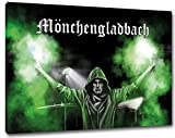 Ultras MönchengladbachBengalo Format: 80x60, Bild auf
