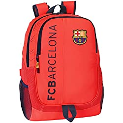 Barça - Mochila adaptable, color naranja (Safta 611462665)