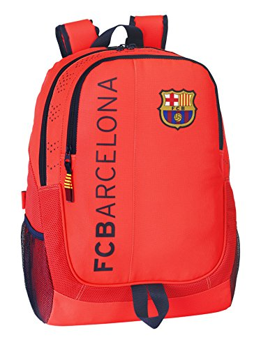 Barça – Mochila adaptable, color naranja (Safta 611462665)