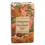 Crabtree & Evelyn Crabapple and Mulberry triple milled soap, 1er Pack (1 x 158 g)