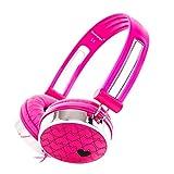 RockPapa 870A Liebe On Ear Kopfhörer Headphone für Kinder Oder Erwachsene/ iPhone SmartPhone Tablet Surface Computer - Rosa