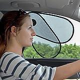 TFY Parasole per finestrini dell'auto che proteggono i neonati e i bambini dalla luce - a misura per la maggior parte dei veicoli, la maggior parte di Sedan, Ford, Chevrolet, Buick, Audi, BMW, Honda, Mazda, Nissan e altri