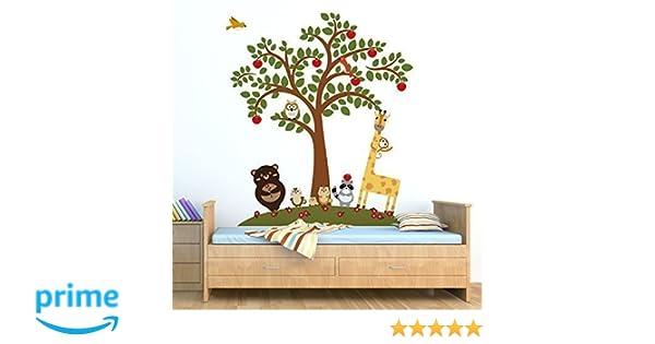 Wall Decoration Decal Mural Nursery Kids Sticker Animal Friends 152cm x 173.5cm