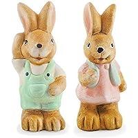 Parsnip et Penny Les Lapereaux Ornements de (Easter Bunny Ornamento)