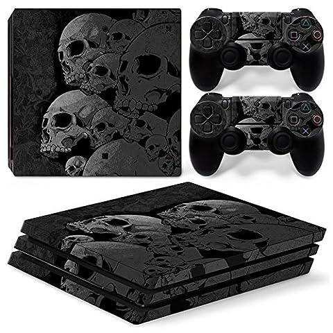 Stillshine PS4 Pro Vinyl Skin Decal Autocollant Sticker pour Playstation 4 Pro console & 2 Dualshock Manette Set