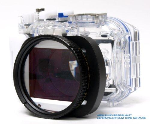 Makroset – Makrolinse +5dpt inkl. Adapter für folgendes Unterwassergehäuse: Panasonic DMW-MCTZ20 inkl. Buch im Wert von 24,99 EUR!