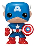 Funko 2224 - Marvel Comics, Pop Vinyl Figure 06 Capitan America, 10 cm