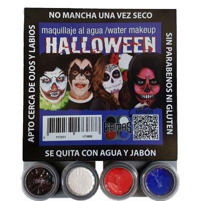 Kit Make-up Halloween Zombie wasserfest Fantasia -