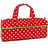 Prym Polka Dots rot/weiß Handarbeitstasche, Cotton, One Size