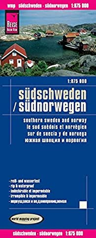 Reise Know-How Landkarte Südschweden, Südnorwegen (1:875.000): world mapping project
