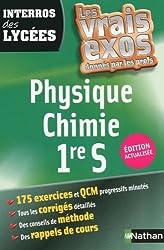 Interros des Lycées Physique - Chimie 1re S