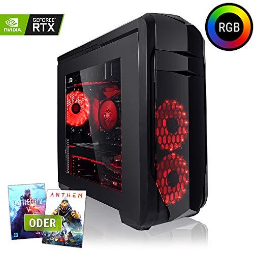 Megaport 8-Kern Gaming-PC Vollausstattung AMD FX-8300 8x4.20 GHz Turbo • GeForce RTX2060 6GB • 16GB DDR3 • 1TB • Windows 10 • Gamer PC • Gaming Computer • Desktop PC • Gamer Computer • Rechner