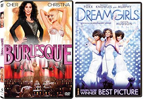 Musical Inspiration - Burlesque & Dreamgirls DVD Double Feature (Beyoncé, Cher, Jennifer Hudson, Christina Aguilera, Julianne Hough) GIRL POWER