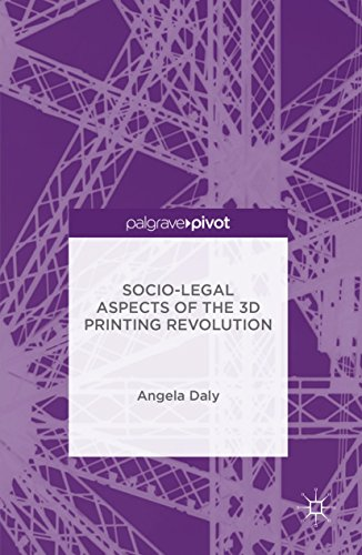 Socio-Legal Aspects of the 3D Printing Revolution (English Edition)