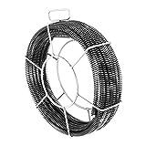 MSW - Set de espirales desatascadores 5 x 2,3 m/ Ø 16 mm + 1 x 2,4 m/ Ø 15 mm...