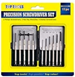 11 Pieces Precision Screwdriver Set For Jewelers Watches Glasses Laptops Mobile