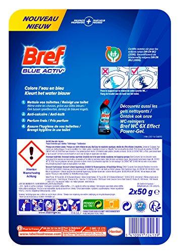 Bref Nettoyant WC Blue Activ' Hygiène Duo-Pack - Lot de 2
